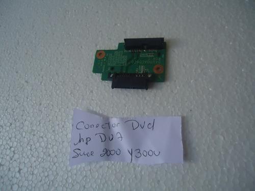 conector de dvd  hp dv7 serie 2000 y 3000