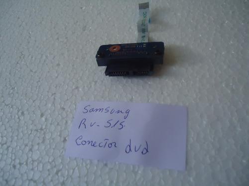 conector de dvd samsung rv515