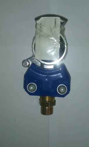 conector de presión de aire para trailer azul
