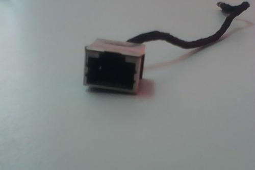 conector de rede rj-45 com flat netbook asus eee pc 1201ha