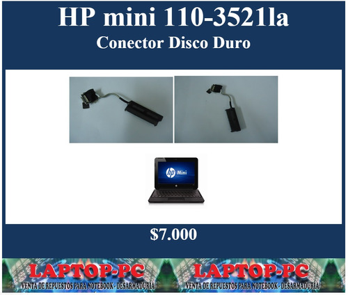 conector disco duro hp mini 110-3521la