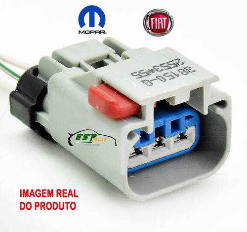 conector do sensor rotação virabrequim fiat etorq tc1031667