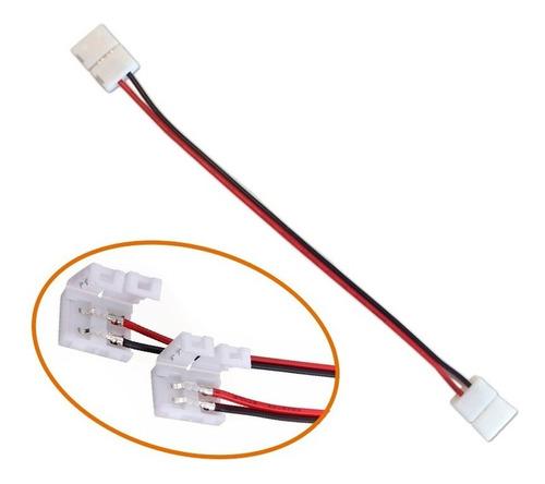 conector doble tira led monocromática 3528 2835 empalme