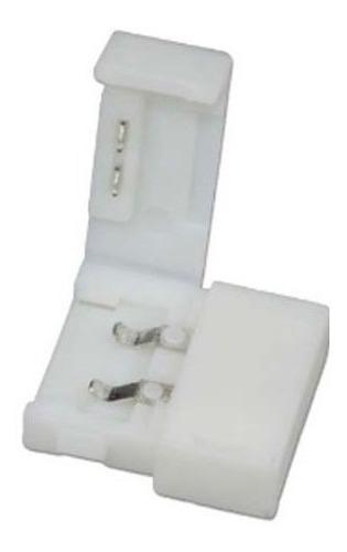 conector doble tira led monocromática sin cable 5050
