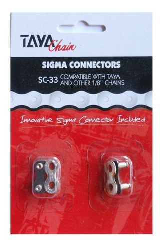 conector eslabon taya - single speed 1/2 x 1/8 2 unidades