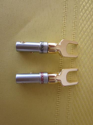 conector espada nakanichi gold, nuevo. (marantz, sansui, jbl