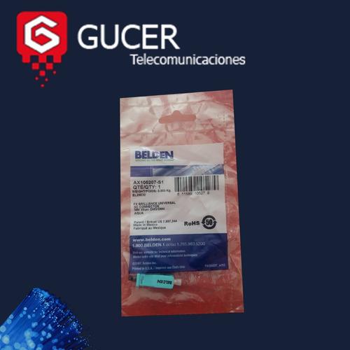 conector fibra belden ax105207-s1 sc multimodo om3