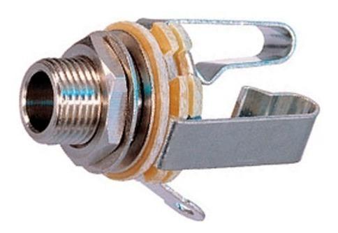 conector ficha jack ts mono a chasis neutrik rean nys229