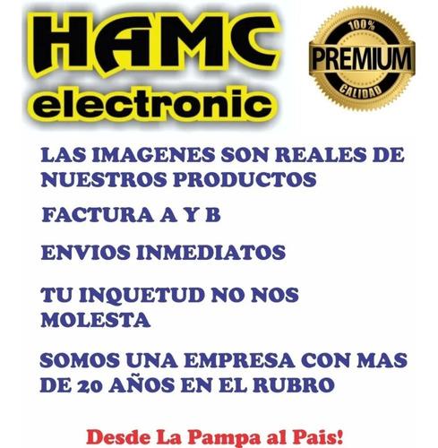 conector ficha miniplug mono 3.5mm metal hamc