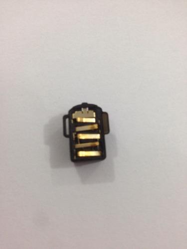 conector fone auricular nextel xt626 iron rock xt 626