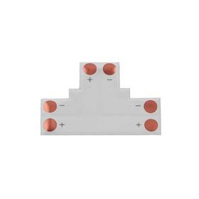 Conector Forma T, Tira Led 2 Pin, 3528