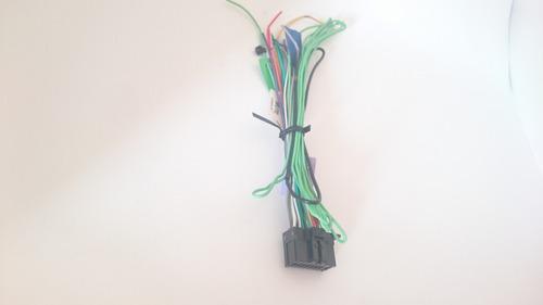 conector harness  radio de auto pioneer 16 original