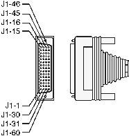 conector hdb60 macho solda s/ capa cisco e hdci polycom