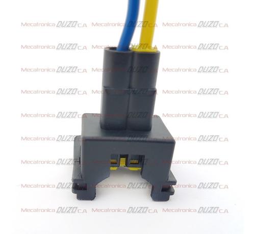 conector inyector chevrolet corsa cielo spark lanos