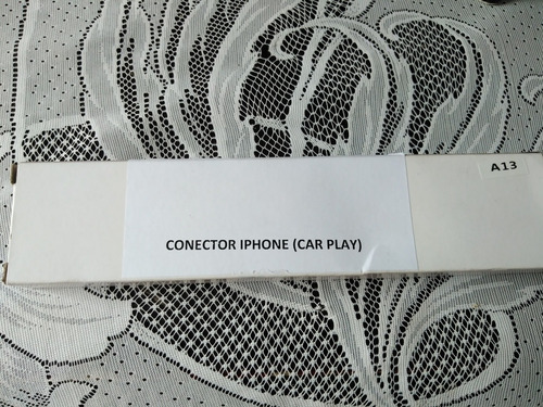 conector iphone (car play)