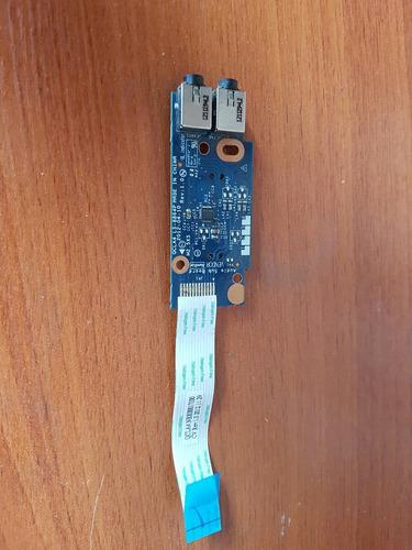 conector jack audio y lector de tarjetas samsung np355e4c