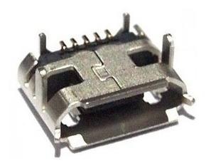 conector jack carga tablet micro usb cce tr72 kit 3un