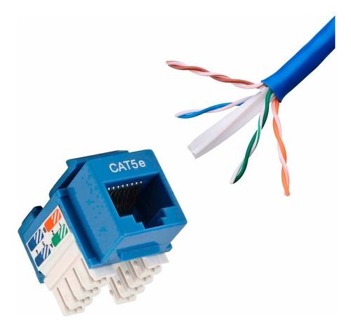conector jack coupler rj45 hembra cat6e keystone panduit