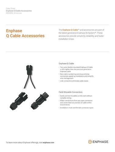 conector macho para cable q de enphase