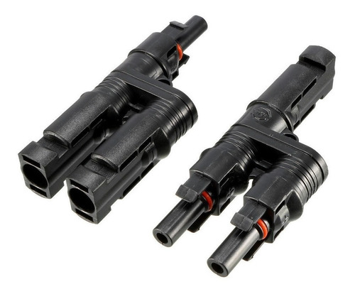 conector mc4 par macho/hembra paralelo 2 entradas - enertik