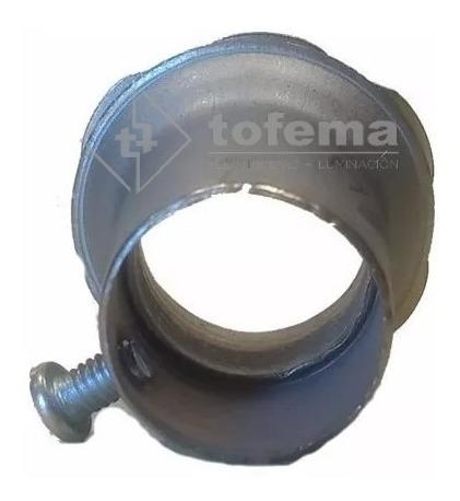 conector metalico para electricidad 7/8 x 50 unidad- tofema.