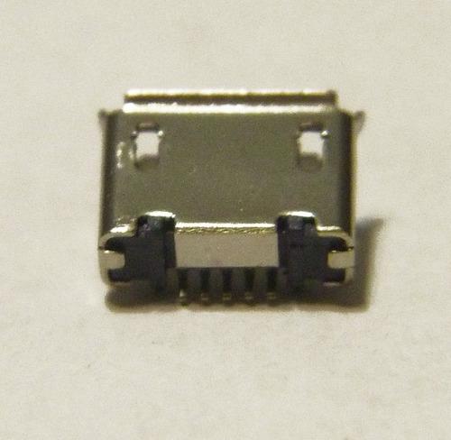 conector micro usb 5 pines tipo b - para celulares y tablets
