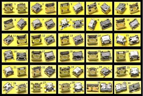 conector micro usb centro de carga samsung s5 usb v8 -29