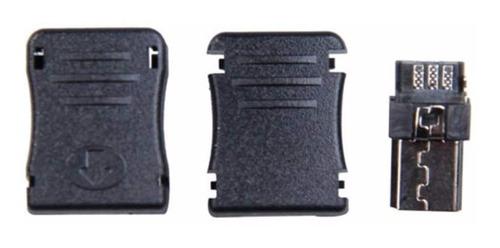 conector micro usb macho para celulares completo