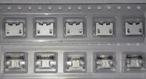 conector micro usb v8 centro de carga  x70 piezas