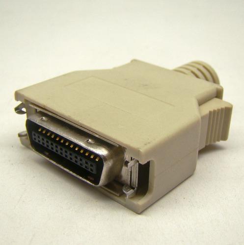 conector mini centronics hpcn 26 mdr 26 terminal solda fios