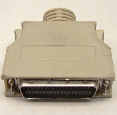 conector mini centronics hpcn 36 mdr 36 terminal solda fios
