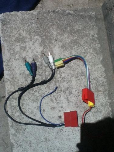 conector mini iso a rca para amplificador