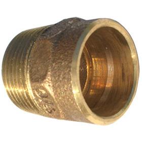 Conector N° 604 Rosca Macho 28 X 1 Polegadas Bronze Eluma