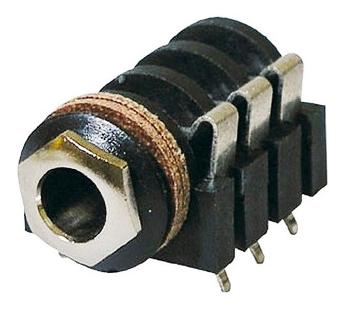 conector neutrik nys215 jack 1/4 estereo plastico horizontal