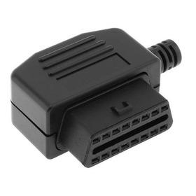 Conector Obd2 Macho O Hembra J1962 Escaner Carros Cables
