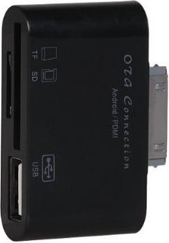 conector otg usb galaxy tab 10.1 7 8.9 lector memoria p6200