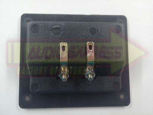 conector para bafle red de atornillar 2 bor dxr705315