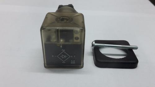 conector para electroválvulas