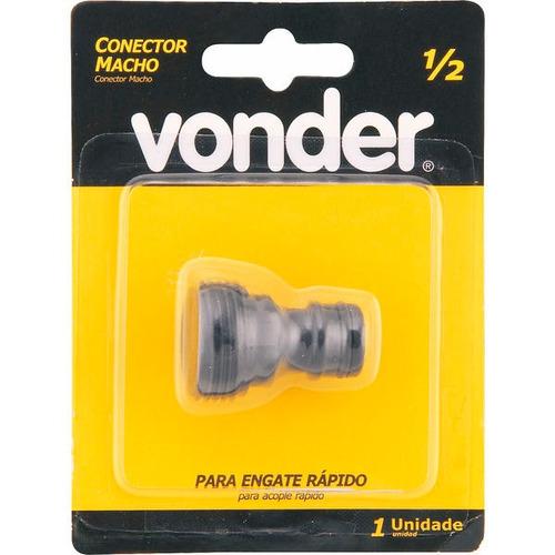 conector plástico macho vonder