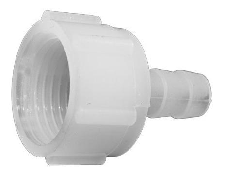 conector plástico rosca h. 1/2  y espiga 5/16¨ (10 unidades)
