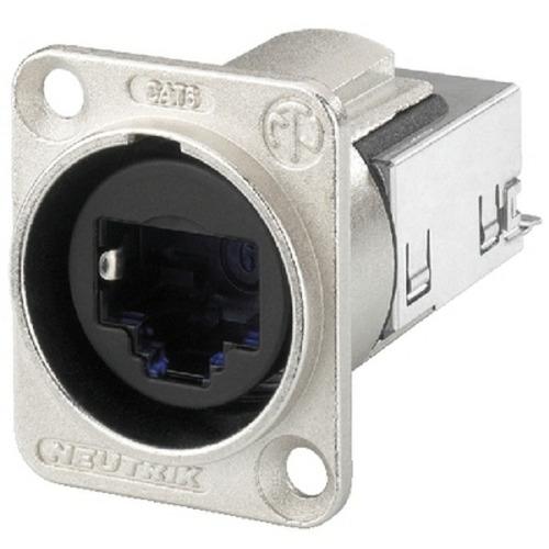 conector plug de painel cat6 neutrik ne8fdy-c6