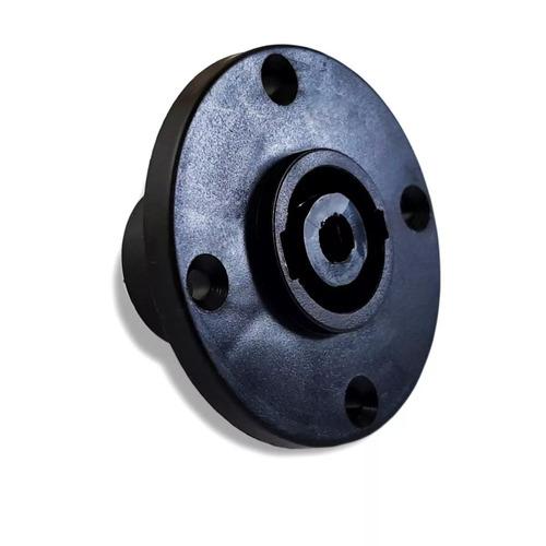 conector plug speakon com trava kit 20 unidades 10 m + 10 f