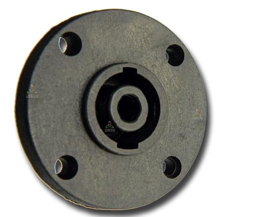conector plug speakon fêmea de painel 4 polos c/12 pçs