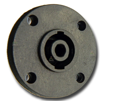 conector plug speakon fêmea de painel 4 polos c/5 pçs