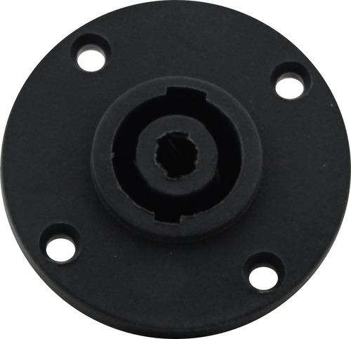 conector plug speakon macho / fêmea 4 polos kit painel linha