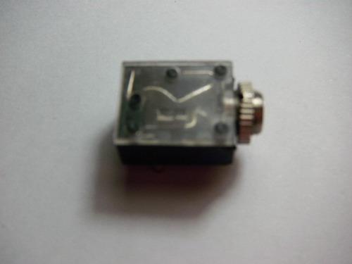 conector plug stereo hembra de 3,5 mm x10 unidades