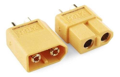 conector plug xt60 para bateria de lipo 5 macho e 5 fêmea