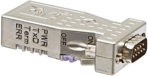 conector profibus recto con leds ma9d00-42 siemens