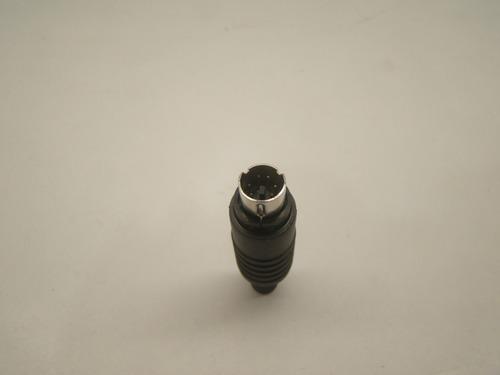 conector ps2 mini din 6 p plástico 6mm 10 pçs promo bf