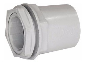 conector pvc 22mm (7/8) - x10 unid - tubelectric - tofema